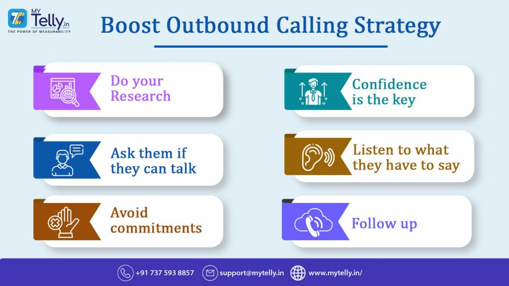 Boost Outbound Calling Strategy infographic